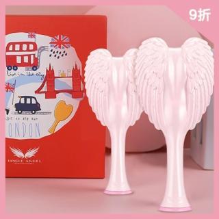 【Tangle Angel】粉紅天使梳組合(王妃梳 天使梳 美髮梳 梳子)