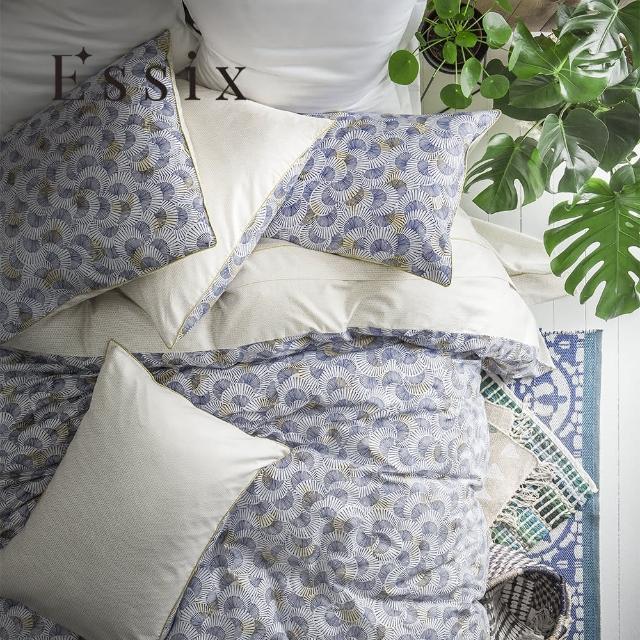 【ESSIX】100%長織綿印花被套-藍鼓之歌(雙人180x210cm)/