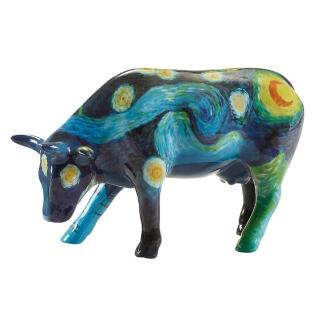 【富邦藝術基金會】2021限量藝術牛:梵谷星空