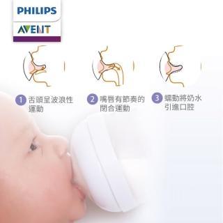【PHILIPS AVENT】親乳感防脹氣奶嘴 2入組 3M+ 中流量 3號嘴(SCF653/23)