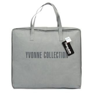 【Yvonne Collection】梗犬愛骨頭雙人四季被_6x7呎(深丈青)