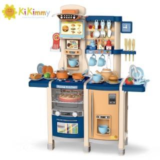 【kikimmy】豪華加大抽風噴霧廚房玩具(65件組)