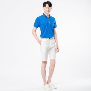 【JYI PIN 極品名店】英倫休閒風範素面POLO衫_藍色(PS705-55)