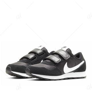 【NIKE 耐吉】休閒鞋 中童 童鞋 兒童 運動鞋 魔鬼氈 MD VALIANT PSV 黑白 CN8559-002