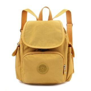 【VIVI SECRET】素色輕便防潑水尼龍材質小後背包(共5色)
