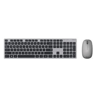 【加購品】華碩 W5000 無線鍵盤滑鼠組(灰色)