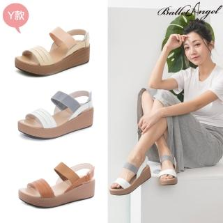 【BalletAngel】涼鞋 釋壓真皮厚底涼鞋(多款任選)