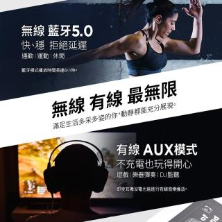 【Havit 海威特】i62 立體聲藍牙無線耳罩式耳機(可90度折疊收納)