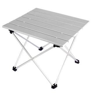 鋁合金蛋捲桌 折疊桌 輕量便攜 蛋捲桌 露營桌(露營 戶外 折疊桌 野餐桌)