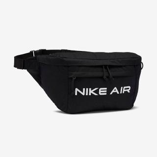 【NIKE 耐吉】腰包 運動包 側背包 斜背包 AIR TECH WAIST BAG 黑 DC7354-010