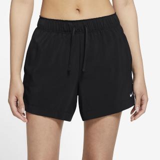 【NIKE 耐吉】短褲 女款 運動短褲 慢跑 訓練 AS W NK FLX 4 IN SHORT 黑 DA0906-010