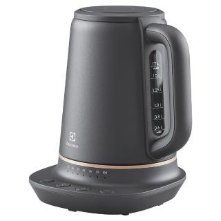 【Electrolux 伊萊克斯】瑞典美學1.7L不鏽鋼溫控電茶壺(E7EK1-60BP)