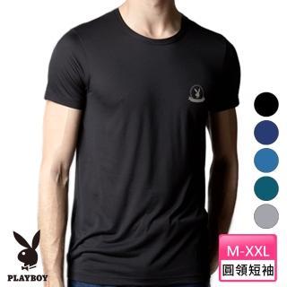 【PLAYBOY】日本窩流枋木代爾零著感男內衣-台灣製造(圓領/V領/背心 3件組)