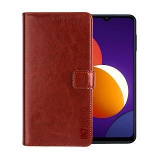【IN7】瘋馬紋 Samsung  M12 #6.5吋 錢包式 磁扣側掀PU皮套 手機皮套保護殼(吊飾孔 插卡皮套)
