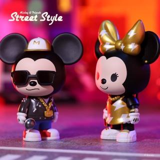 【POPMART 泡泡瑪特】迪士尼米奇家族街頭系列公仔盒玩(兩入隨機款)