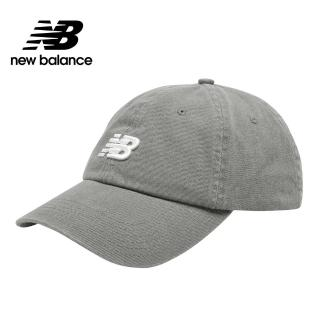 【NEW BALANCE】NB 復古棒球帽_男款/女款_灰色_LAH91014SEL(加價購商品)