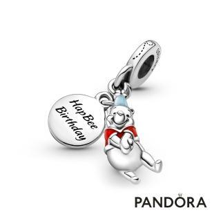 【Pandora官方直營】迪士尼《小熊維尼》壽星吊飾