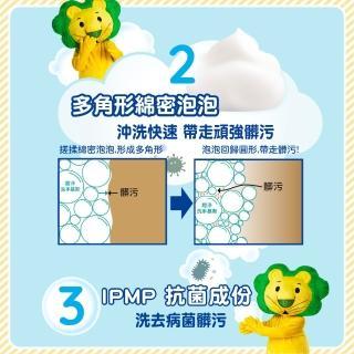 【LION 獅王】趣淨抗菌洗手慕斯 DIY遊樂組(250mlx1+200mlx2贈DIY貼紙)