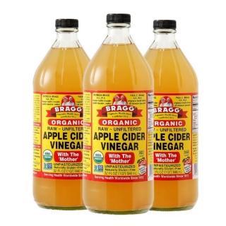 【BRAGG】有機蘋果醋3入組 (946ml)