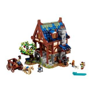 【LEGO 樂高】Ideas 中世紀鐵匠 21325 武士 熔鐵爐(21325)