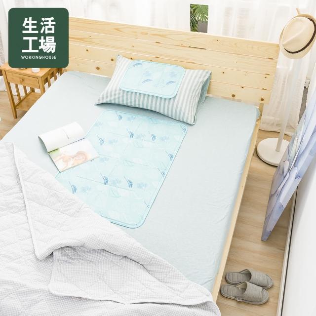 【生活工場】夏日微風固態冷凝單人床墊60x90/