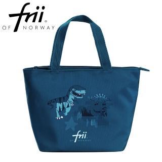 【Frii 自由】萬用便當袋-恐龍綠藍Dinosaur(樂寶官方獨家Frii便當袋)