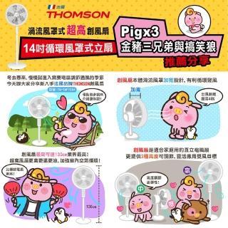 【THOMSON】momo獨家★14吋渦流循環式超高立扇(TM-SAF19A4)