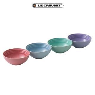 【Le Creuset】布列塔尼圓舞曲系列早餐榖片碗組16cm(4入)