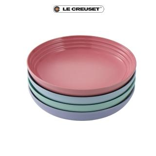 【Le Creuset】布列塔尼圓舞曲系列義麵盤組22cm(4入)