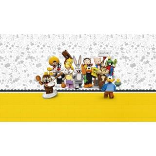 【LEGO 樂高】Minifigures Looney Tunes 71030 兔巴哥 崔弟(71030)