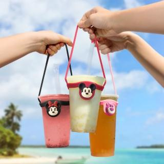 【Bone】迪士尼杯綁-米奇/米妮(飲料提袋)