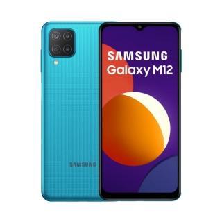 防爆殼貼組合【SAMSUNG 三星】Galaxy M12 6.5吋四主鏡智慧型手機(4G/128G)