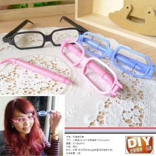【Ainmax 艾買氏】超可愛糖果色系無框眼鏡筆(一副兩支筆)
