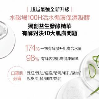 【CLINIQUE 倩碧】水磁場水塔蓄水組 口罩肌居家保養(水磁場凝膠75ml+5ml*6+奇蹟膠15ml*2+眼部精華5ml*3)