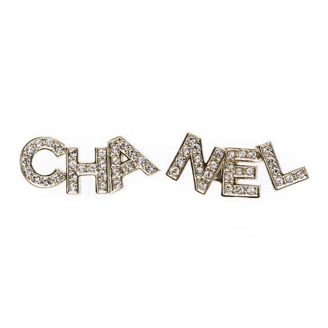 【CHANEL 香奈兒】經典雙C LOGO 字母款/垂吊圓珠款/鑲鑽雙C款/袖扣款 耳環.項鍊(多款多色選/耳針.耳夾式)