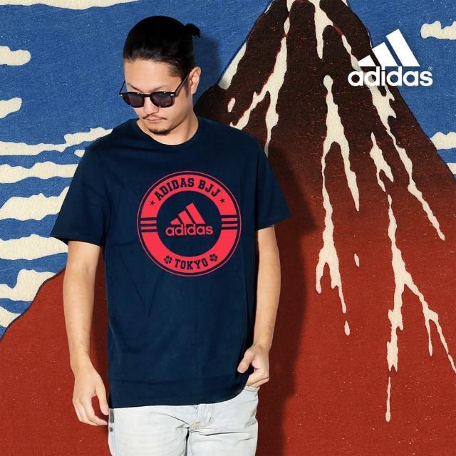 【adidas 愛迪達】adidas x Tokyo 短袖T恤(男女款 素 T 棉T 多色任選)
