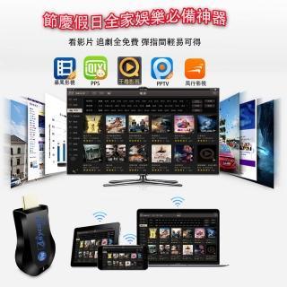 【DW 達微科技】六代藍精靈精緻款AnyCast全自動免切換HDMI無線影音傳輸器(送4大好禮)