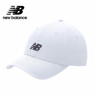 【NEW BALANCE】NB復古棒球帽_中性_白色_LAH91014WT(加價購商品)