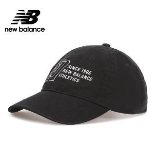 【NEW BALANCE】NB 復古棒球帽_中性_黑色_MH030410BK(加價購商品)