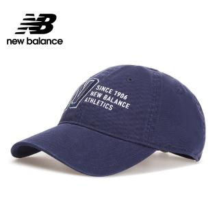 【NEW BALANCE】NB 復古棒球帽_中性_深藍色_MH030410NV(加價購商品)