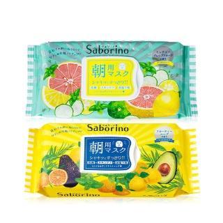 【BCL】Saborino 買1送1-日本早安面膜 32枚入(任選二入 日本平行輸出)