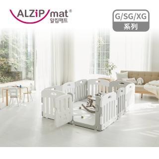 【Alzipmat】韓國遊戲地墊140x280cm XG系列-奶灰色(不含圍欄)