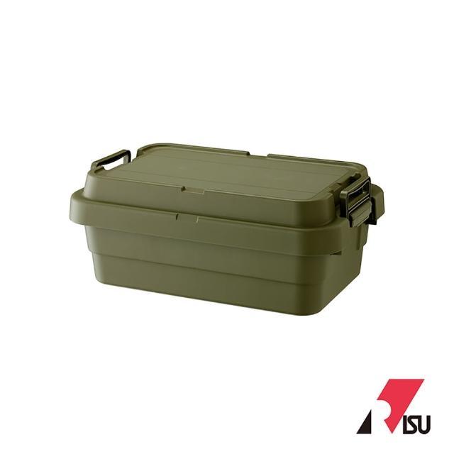 【RISU】TRUNK CARGO 二代多功能耐重收納箱 50S-LOW(黑色/軍綠色/水泥灰色)