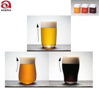 【ADERIA】日本薄口強化啤酒杯 3款 玻璃杯(啤酒杯 玻璃杯)