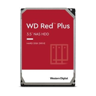 【WD 威騰】紅標 Plus 4TB NAS專用 3.5吋 SATA硬碟(WD40EFZX)