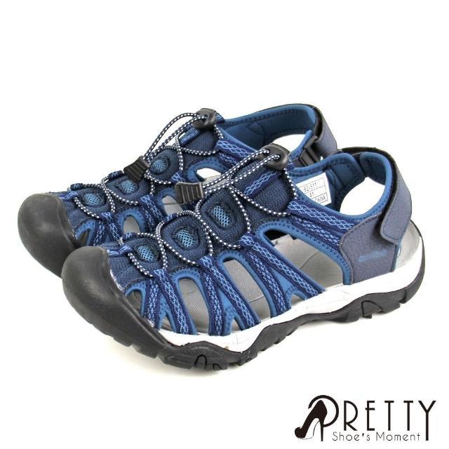 【Pretty】男女款 水陸 戶外運動 休閒護趾涼鞋/運動涼鞋/登山鞋(微解封上山下海組/多款任選)