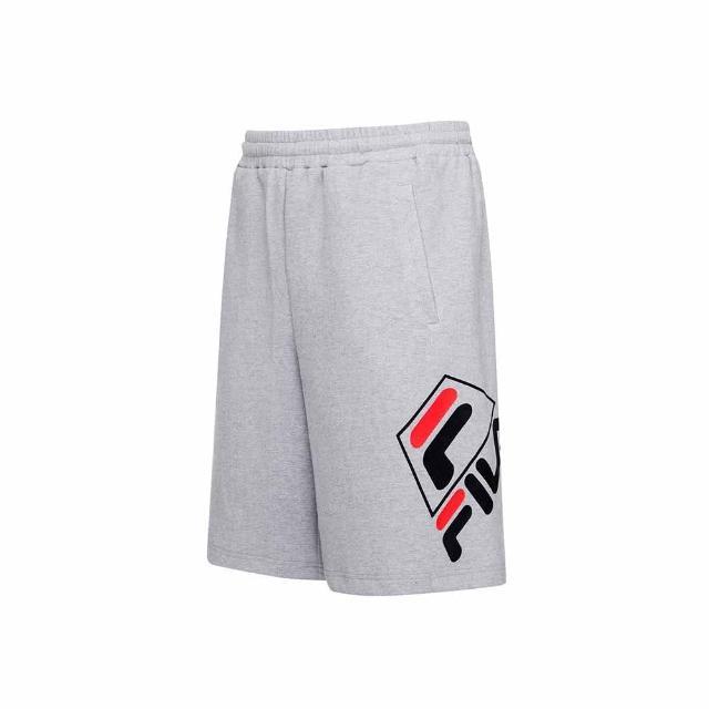 【FILA】短袖T恤 短褲 男女款 圓領上衣/針織短褲-共6色任選(1TEU-5504+5TEU-5505+1SHU-5453)