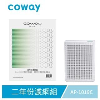 【Coway】空氣清淨機二年份濾網 玩美雙禦型 AP-1019C(加價購專用)