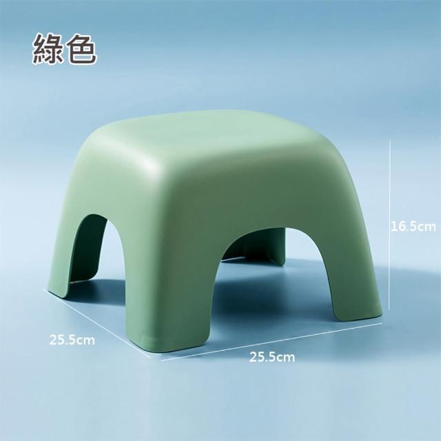 【HappyLife】四角幾何凳小號 Y10266(小凳子 椅凳 換鞋凳 浴室凳子 矮凳 矮椅子 小椅子)