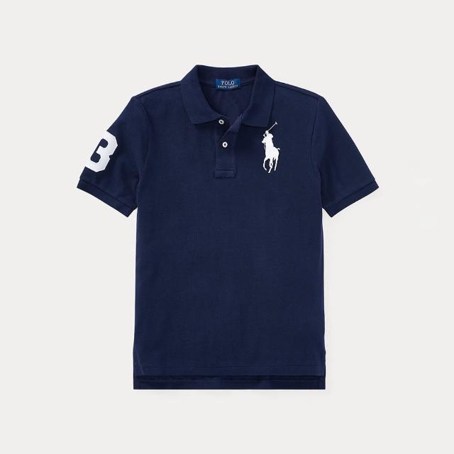 【RALPH LAUREN】POLO Ralph Lauren 休閒 POLO 刺繡大馬短袖臂章上衣(四色可選、版型偏大)